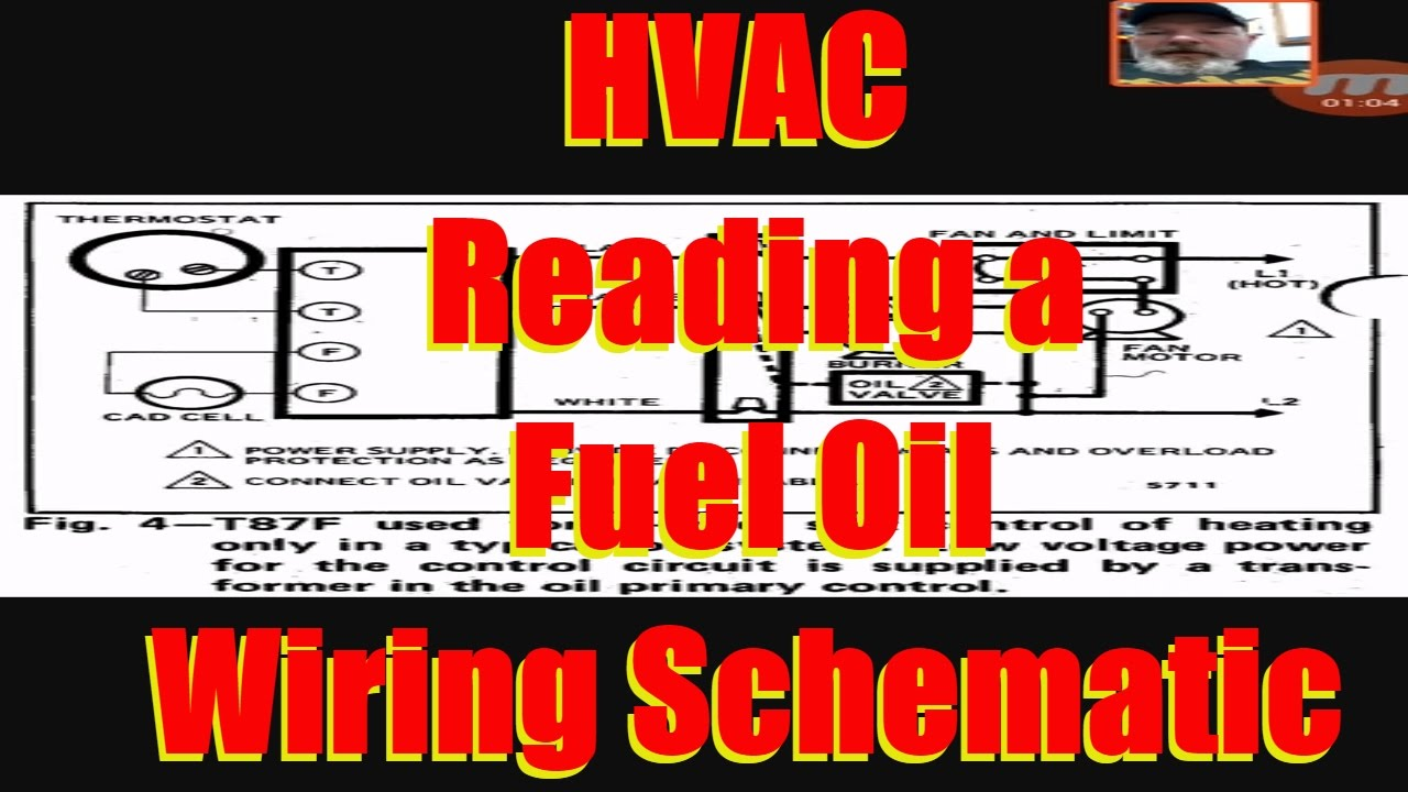 Hvac Reading An Oil Furnace Wiring Schematics Youtube Olsen Diagram