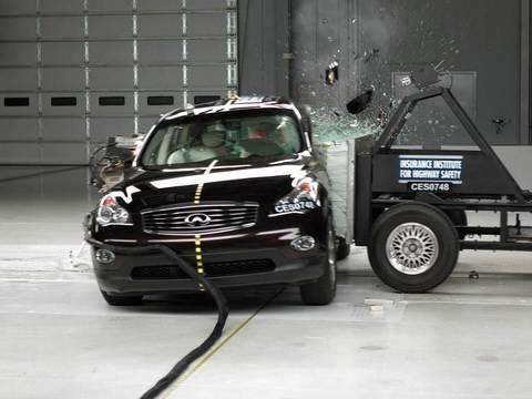 2008 Infiniti EX35 side test