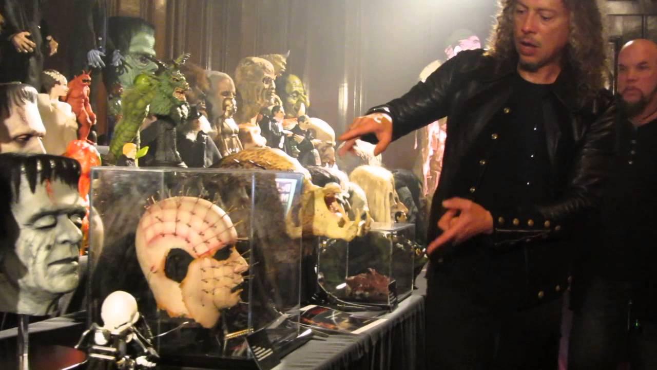 Kirk hammet 39 s horror collection tour fear festevil 2014 for Kirk hammett house