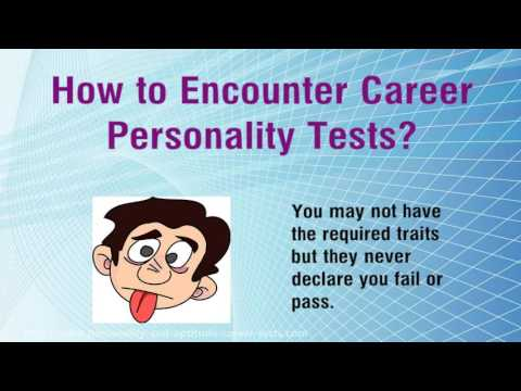 How Personality Career Tests Work Out Your Personality Traits - YouTube