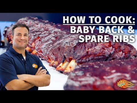 How to Cook Baby Back and Spare Ribs - BBQ Guru Barbecue Recipes