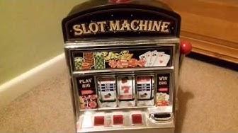 Mini Slot Machine Toy