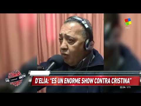 ¿CFK presa? La amenaza de DElía