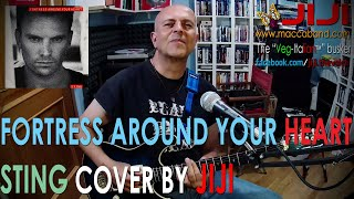 Sting - Fortress Around Your Heart | Cover by Jiji, the veg-Italian busker