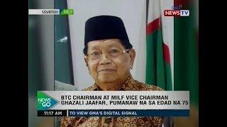 Ntg: Btc Chairman At Milf Vice Chairman Ghazali Jaafar, Pumanaw Na Sa Edad Na 75