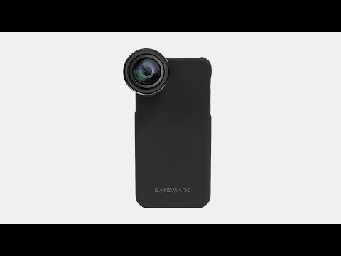 Photography Lens System for iPhone X, 8 & 7 - SANDMARC