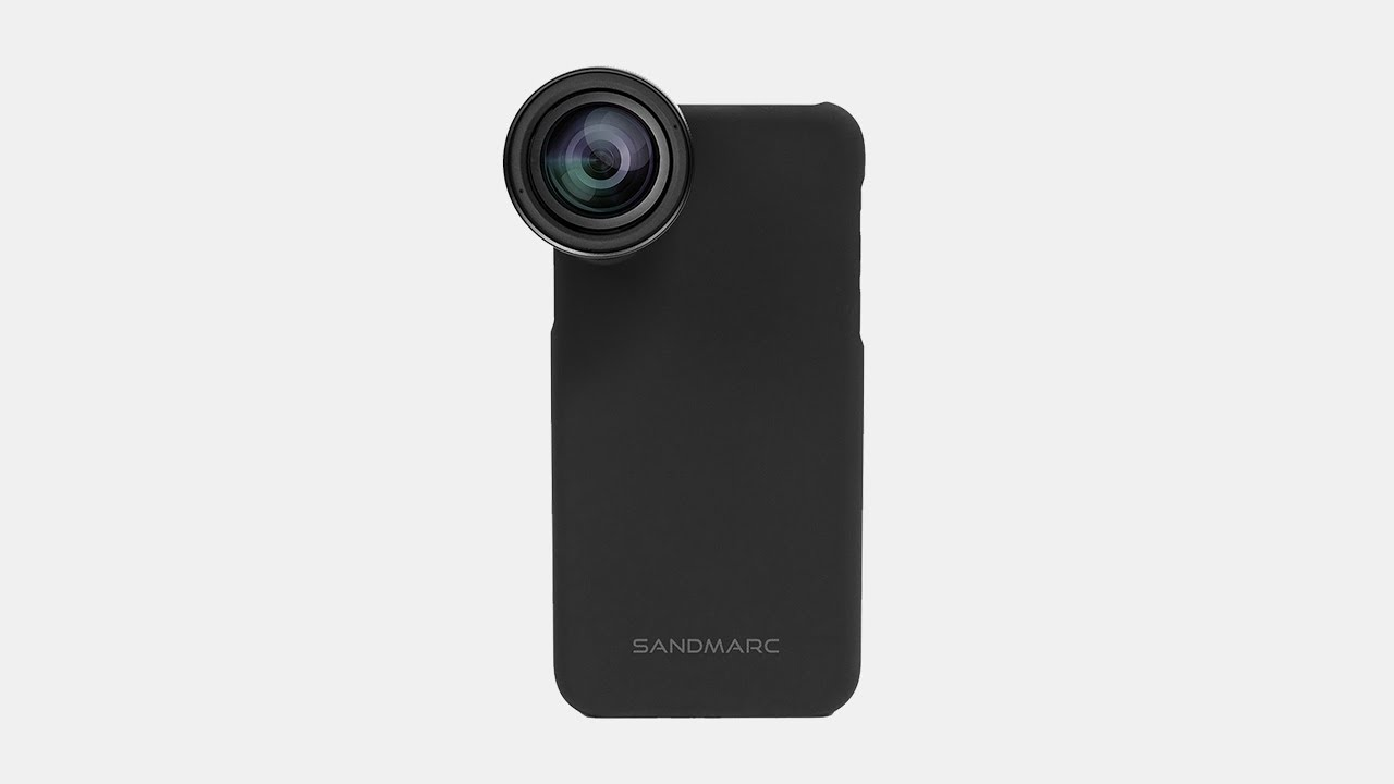 finest selection b0fa8 d4554 Photography Lens System for iPhone - SANDMARC