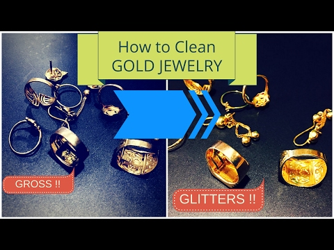 How To Clean gold Jewelry at home / How to Clean gold Jewellery at home