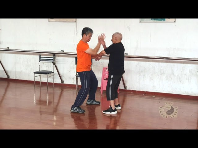 Chi Sau with Grandmaster Ip Chun pt1