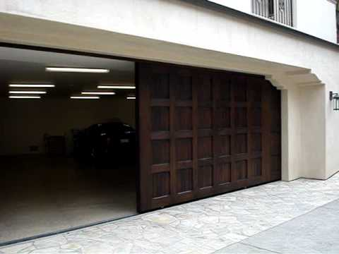 sliding garage doorsSliding garage door  gdigaragedoorscom  YouTube