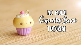 Download lagu NO MOLD Cupcake Base│Polymer Clay Tutorial (Updated)