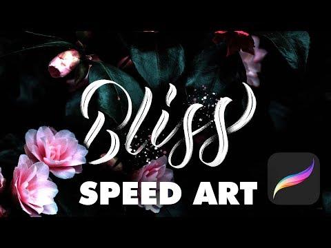 iPad Pro Handlettering Speed Art