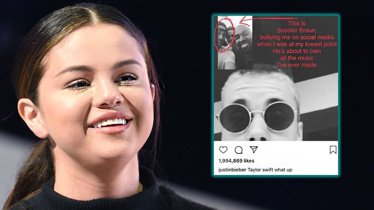 Selena Gomez & Ariana Grande React To Taylor Swift Fighting With Scooter Braun
