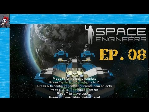 Space Engineers | Ep 08 | New Parking Lot