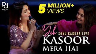Sonu Kakkar Live   Yeh Kasoor Mera Hai By Sonu Kakkar   Neha Kakkar   Tony Kakkar