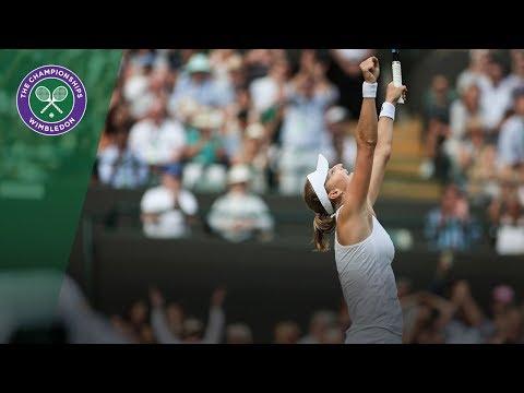 Ekaterina Makarova vs Caroline Wozniacki 2R Highlights | Wimbledon 2018