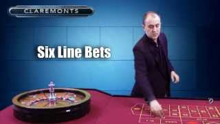 How to Play Roulette - Six Line Bets & Corner Bets