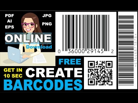 How to Make Any Barcode | Online | Free Download