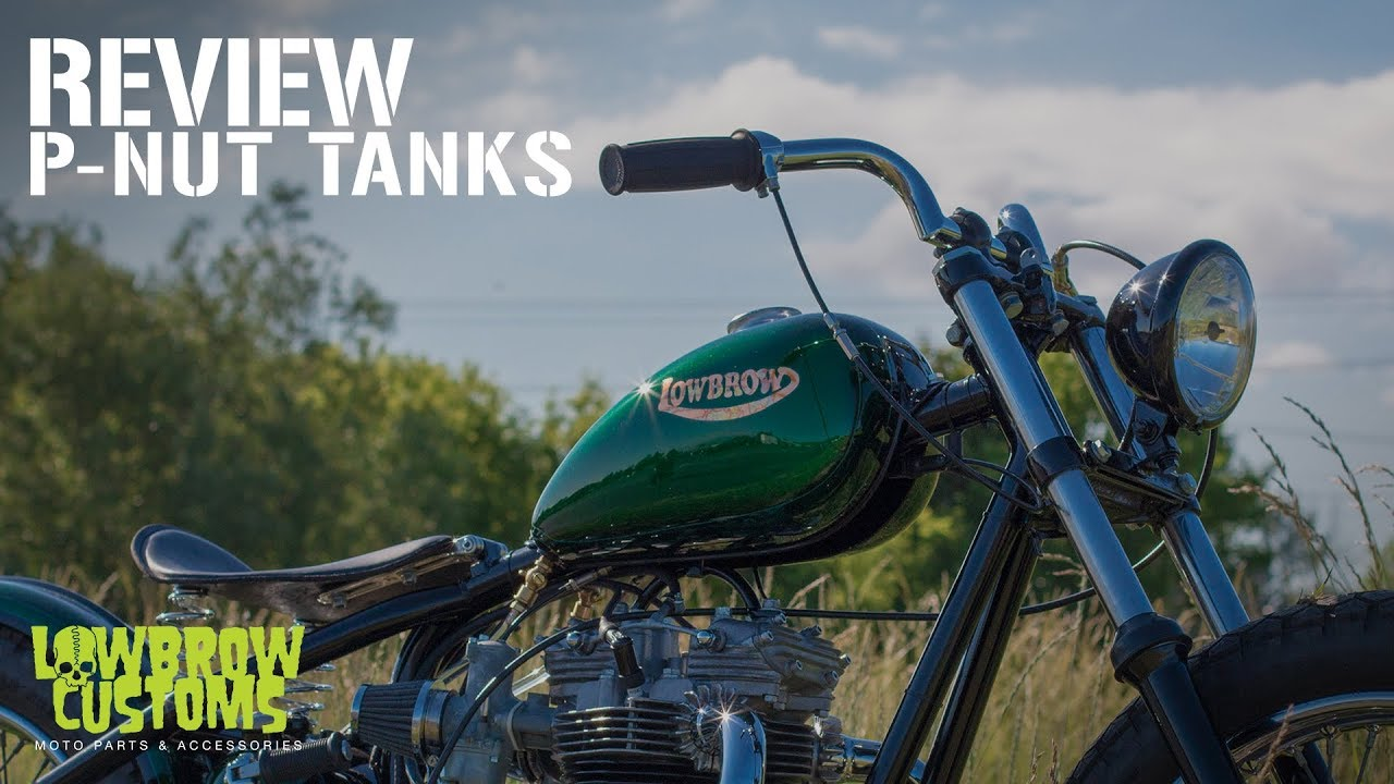 Lowbrow Customs P-Nut Gas Tanks: Wassell-style custom gas tanks for  traditional bobbers & choppers