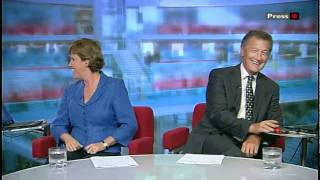 bbc look east news walking with dinosaurs man gets to control one