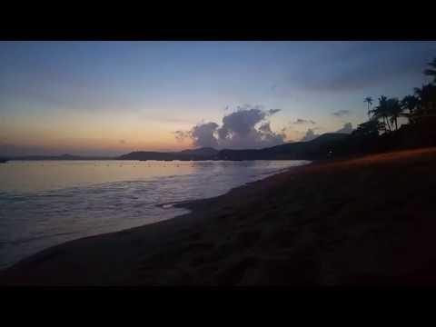 Koh Samui Bophut beach Sonnenaufgang