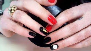 Дизайн ногтей гель-лак shellac - Дизайн элементами (видео уроки дизайна ногтей)