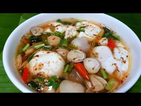 881 ต้มแซ่บไข่ดาวน้ำ ไข่เยิ้มๆ ซดน้ำร้อนๆ คล่องคอ Spicy soup with Poach