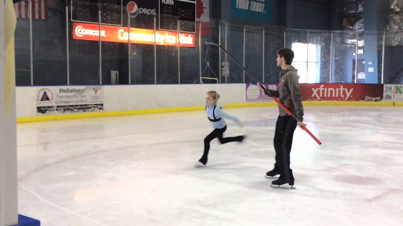 kids practicing skate