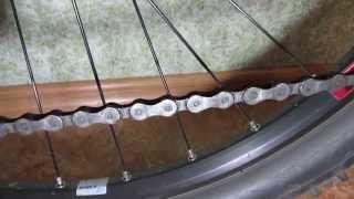 Как снять велосипедную цепь?(Снимаем велосипедную цепь Shimano Deore HG53, 9 скоростей., 2014-11-27T13:55:47.000Z)