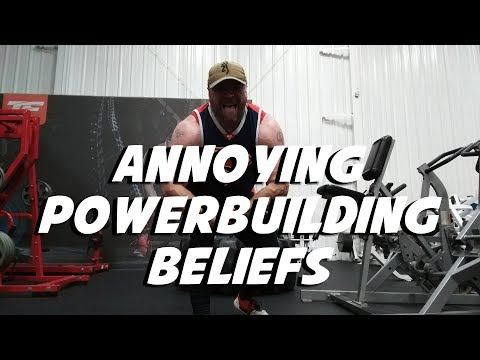 3 Annoying Powerbuilding Beliefs (That NEED to Go Away)