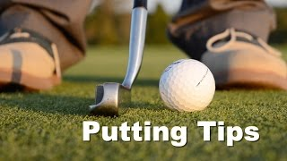 Putting Tips - Improve your Golf Game with Topspin