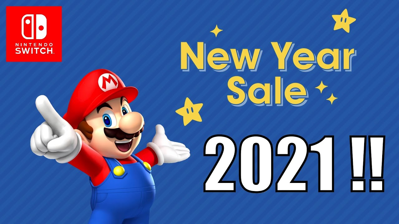 Nintendo Kicks Off A BIG 2021 New Years Sale