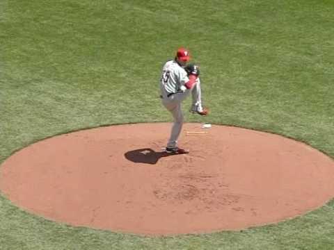 LHP Cole Hamels pitching mechanics