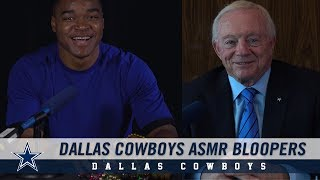 Behind the Scenes: 2019 Dallas Cowboys Schedule Through ASMR with Amari Cooper | Dallas Cowboys 2019