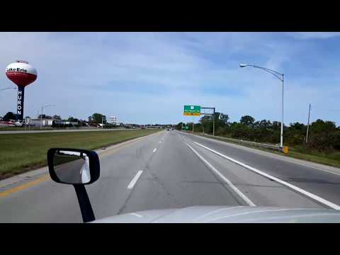 BigRigTravels LIVE! Huron to Monroe, Ohio OH 2 & 4, Interstate 80 & 75-Sept. 11, 2017