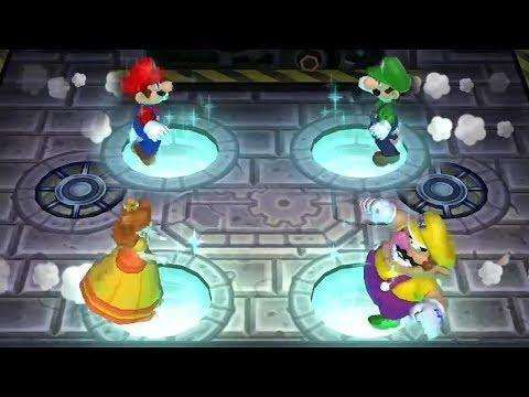 Mario Party 9 Step It Up - Mario Vs Luigi Vs Daisy Vs Wario - Master CPU