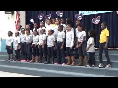 Aliceville Elementary School Choir.....Thank a Vet