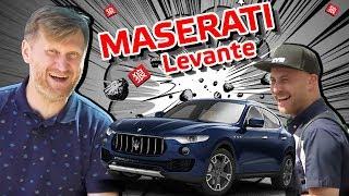 обзор Maserati Levante 2019. Тест-драйв от Андрея Рожкова и Александра Морозова
