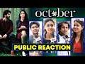 October Movie | First Day First Show | Public Excitement | Varun Dhawan, Banita Sandhu