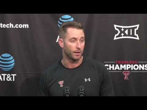 Kliff Kingsbury Monday Press Conference