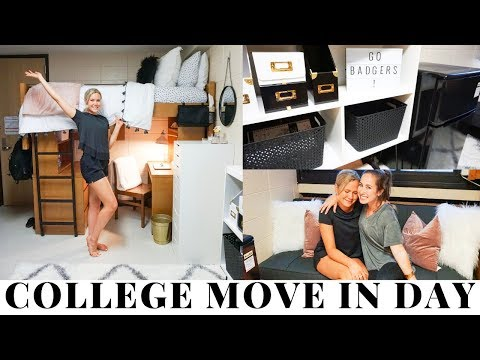 College Move In Day Vlog 2018 (freshman) | University of Wisconsin-Madison
