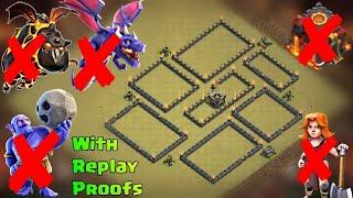 Best Th9 War Base | Defense against Th10 GoVaHo, Th10 Dragons, Th9 HGHB, Th9 Govalk, Th9 & 10 LaLoon