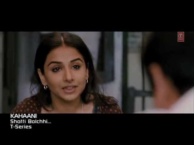 """Aami Shotti Bolchi"" Kahaani movie Feat. Vidya Balan"