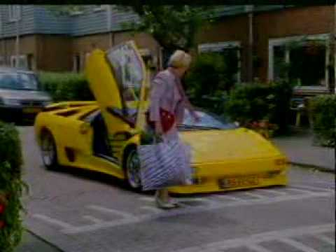 LOTTO Commercial - Old Lady with Lamborghini