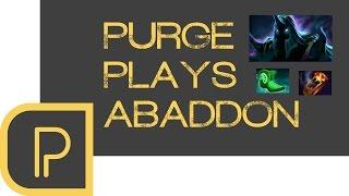 Dota 2 Purge plays Abaddon