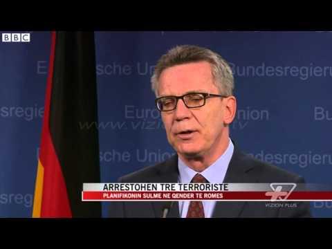 Parandalohet sulmi terrorist ne Rome - News, Lajme - Vizion Plus