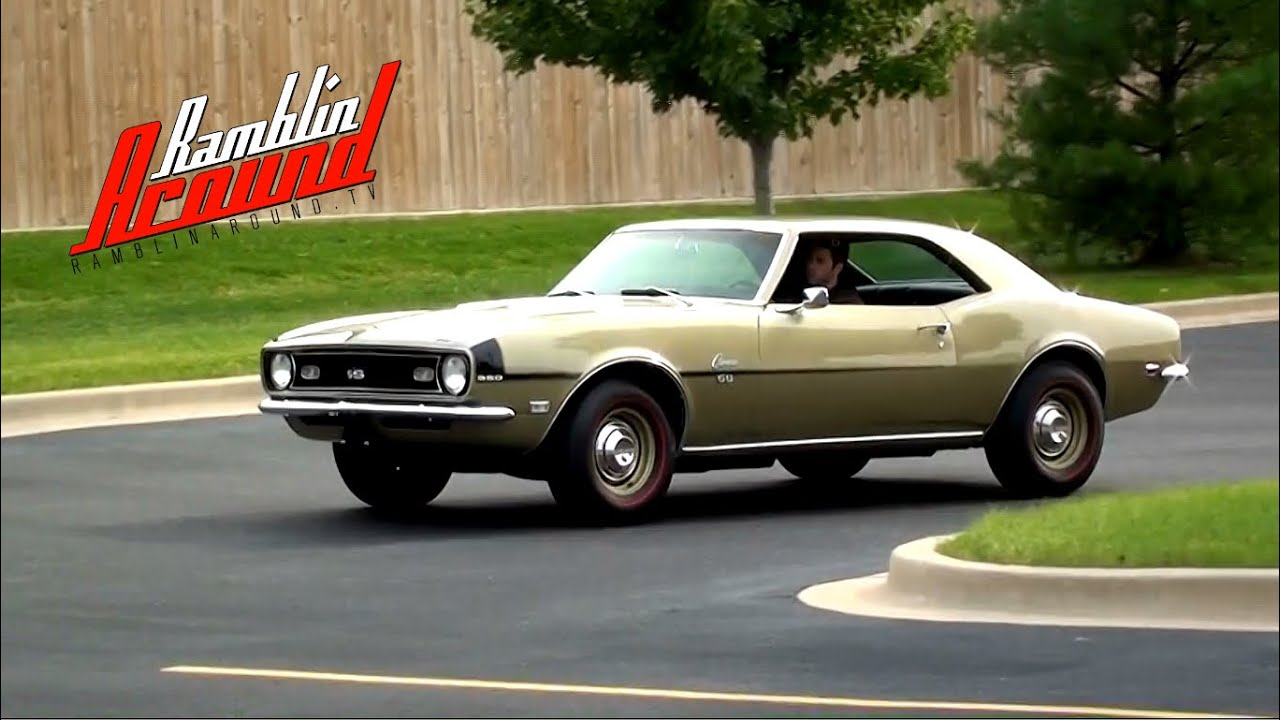 Camaro 68 chevrolet camaro : 1968 Chevrolet Camaro SS 350 V8 Four-speed - YouTube