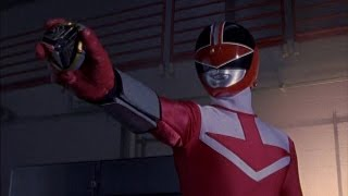 """Power Rangers Time Force - Red Ranger vs Ransik 