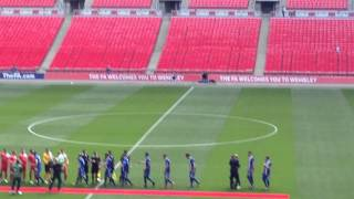 Glossop North End V North Shields. Fa Vase Final. May 9th 2015. Wembley Stadium. Gne.