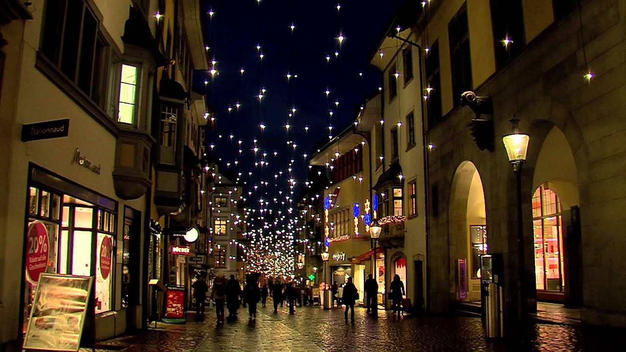 Test Led Weihnachtsbeleuchtung.Led Weihnachtsbeleuchtung Schaffhausen 2012